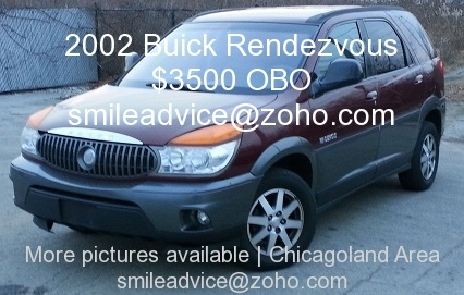 2002 Buick Rendezvous Chicago Illinois