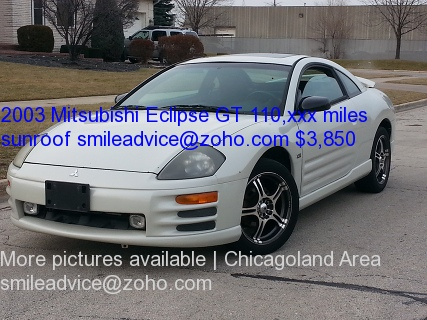 2003 Mitsubishi Eclipse GT Chicago Illinois
